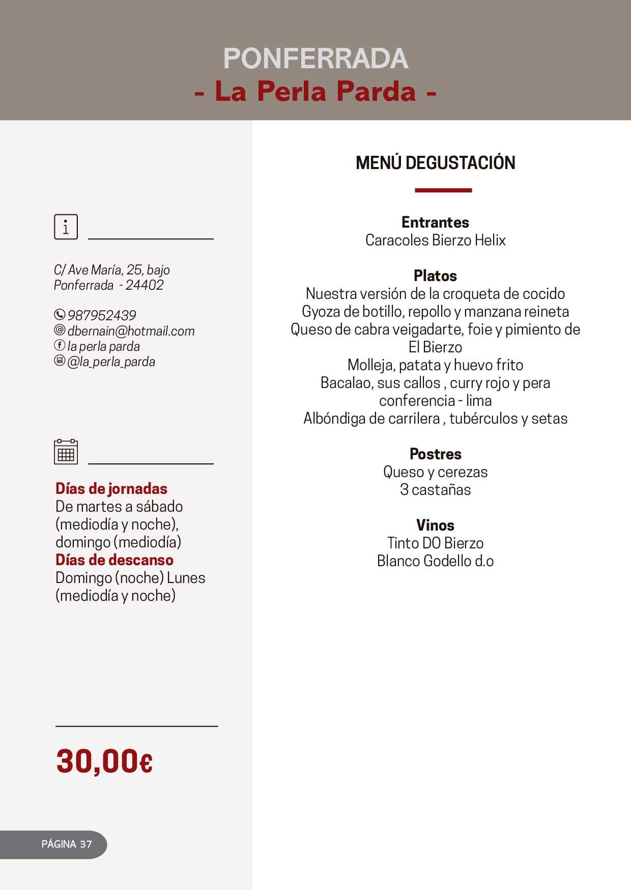 Las Jornadas Gastronómicas del Bierzo llegan a su 34 edición 20