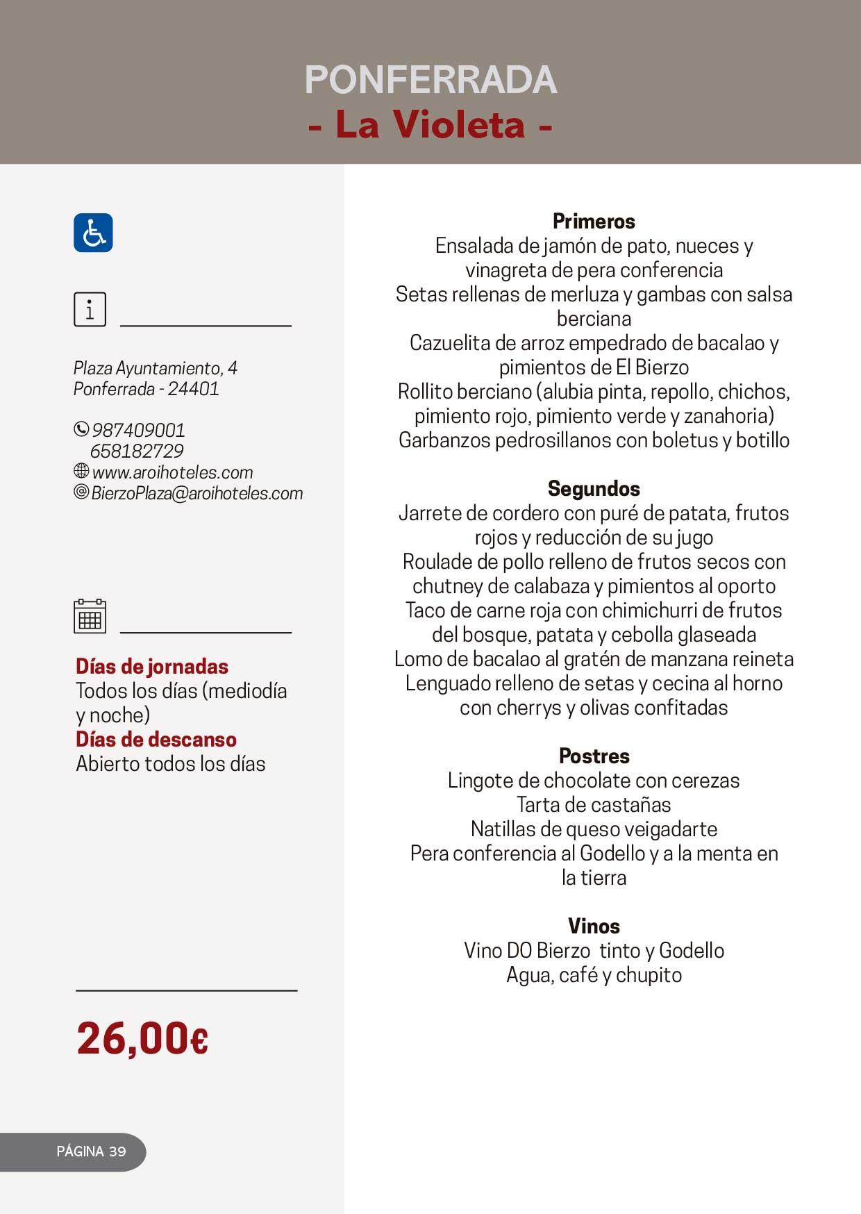 Las Jornadas Gastronómicas del Bierzo llegan a su 34 edición 22