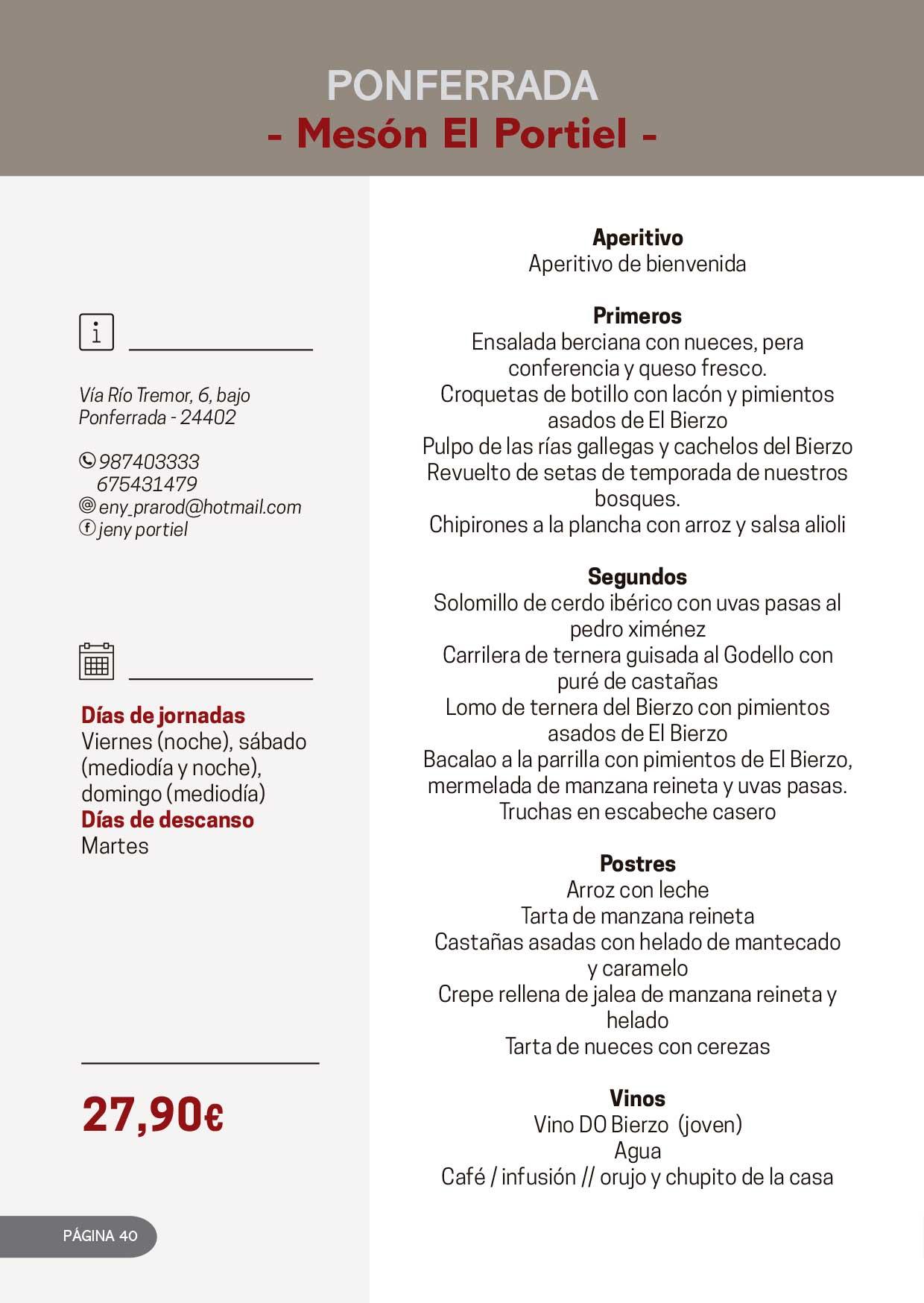 Las Jornadas Gastronómicas del Bierzo llegan a su 34 edición 23