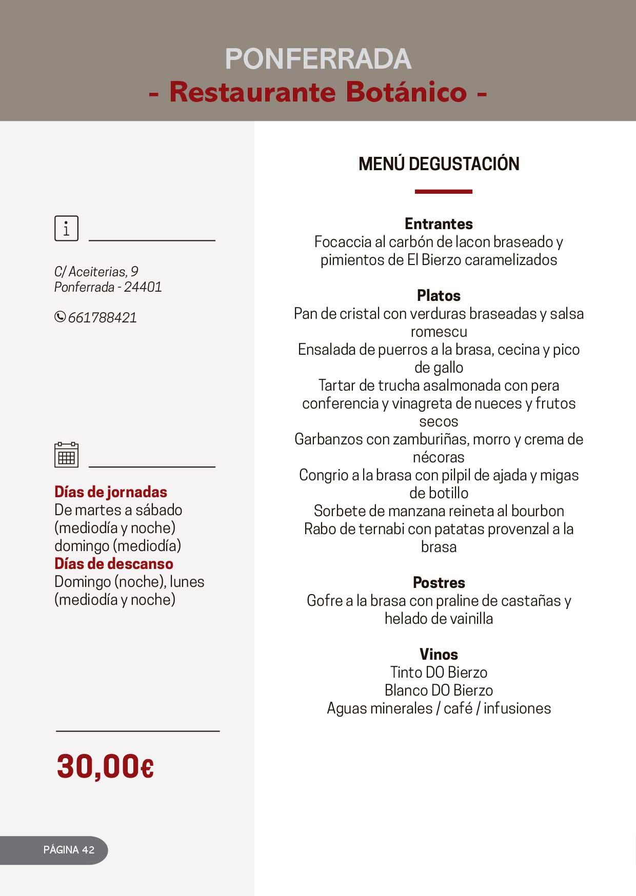Las Jornadas Gastronómicas del Bierzo llegan a su 34 edición 25