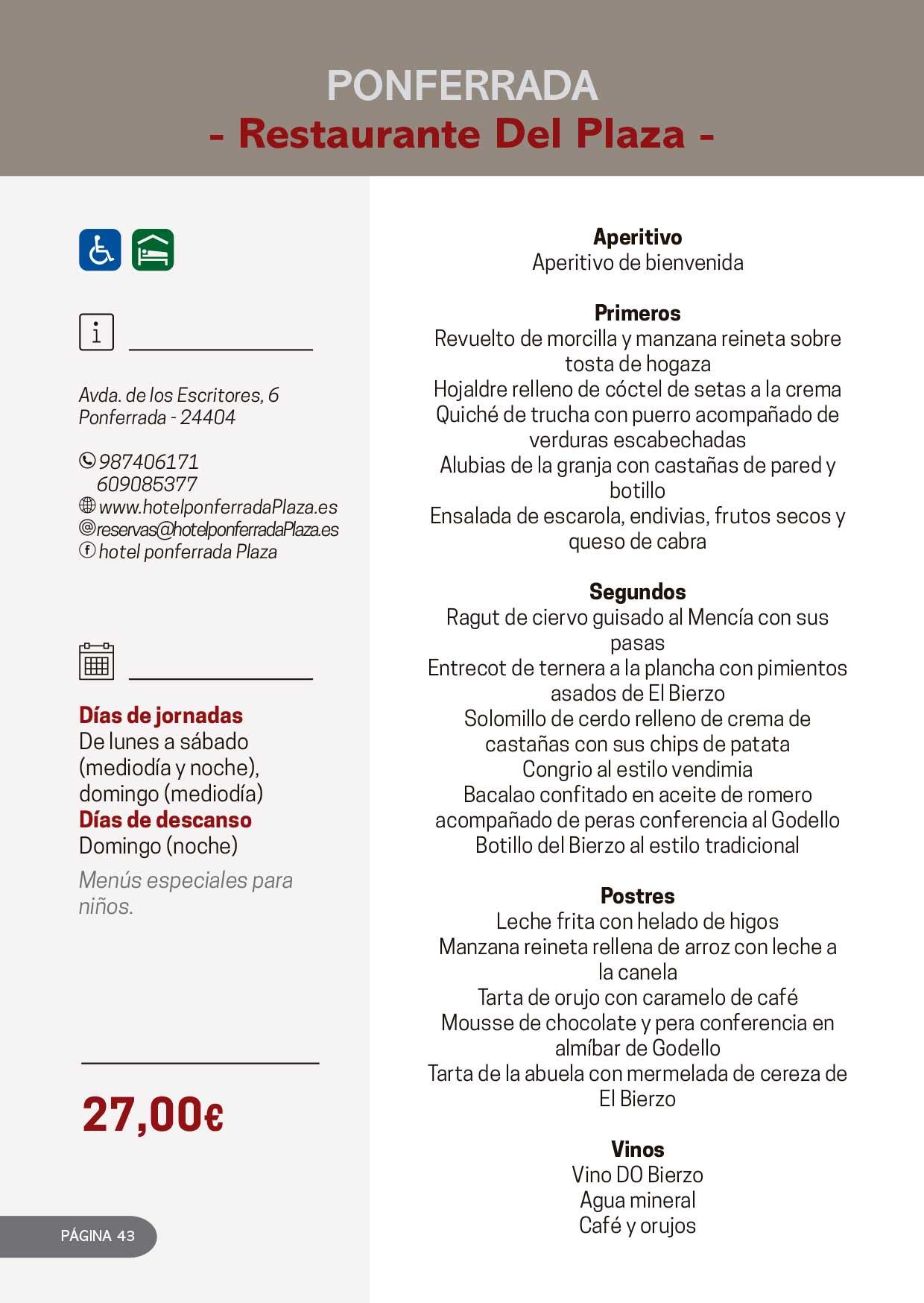 Las Jornadas Gastronómicas del Bierzo llegan a su 34 edición 26