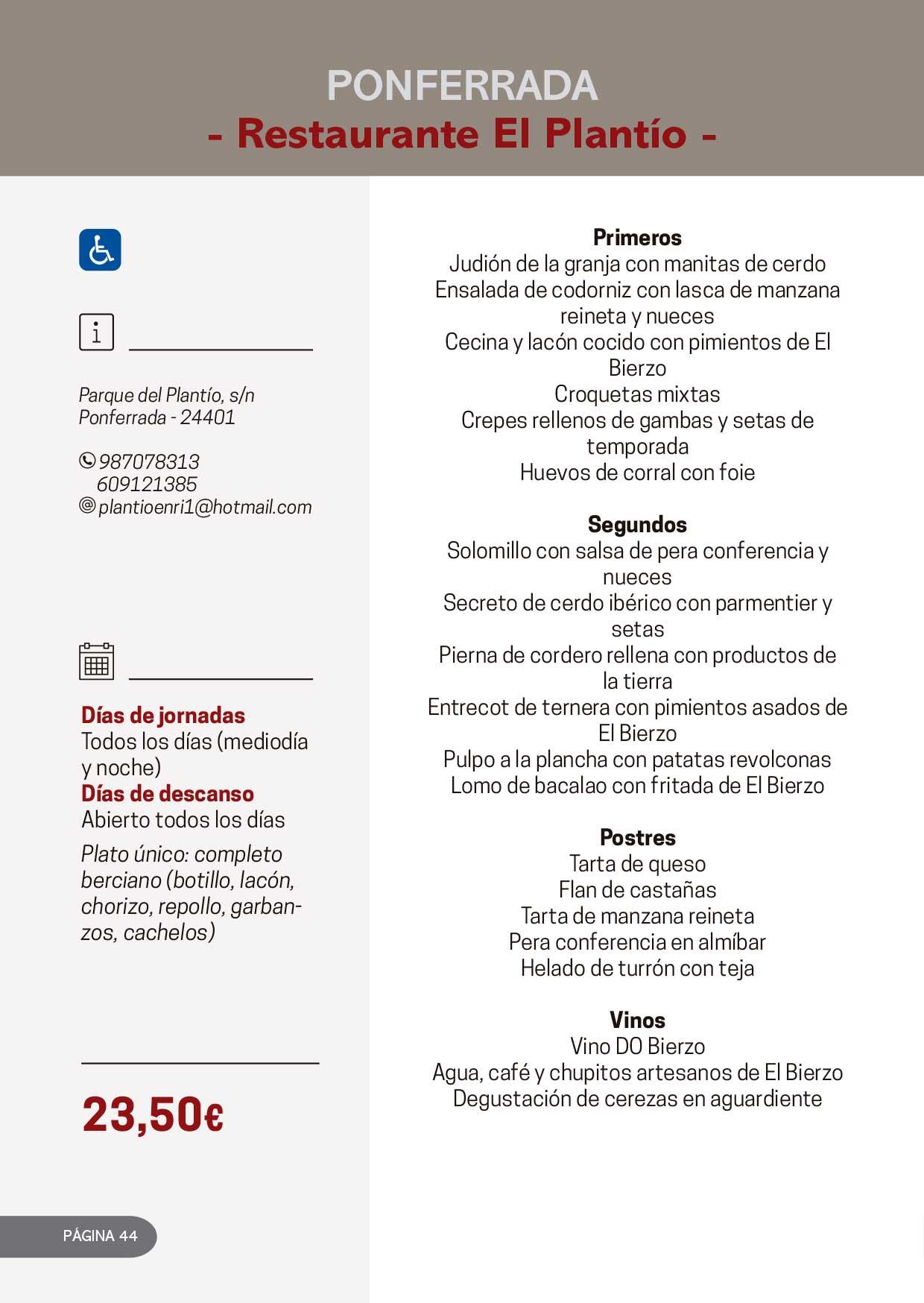 Las Jornadas Gastronómicas del Bierzo llegan a su 34 edición 27