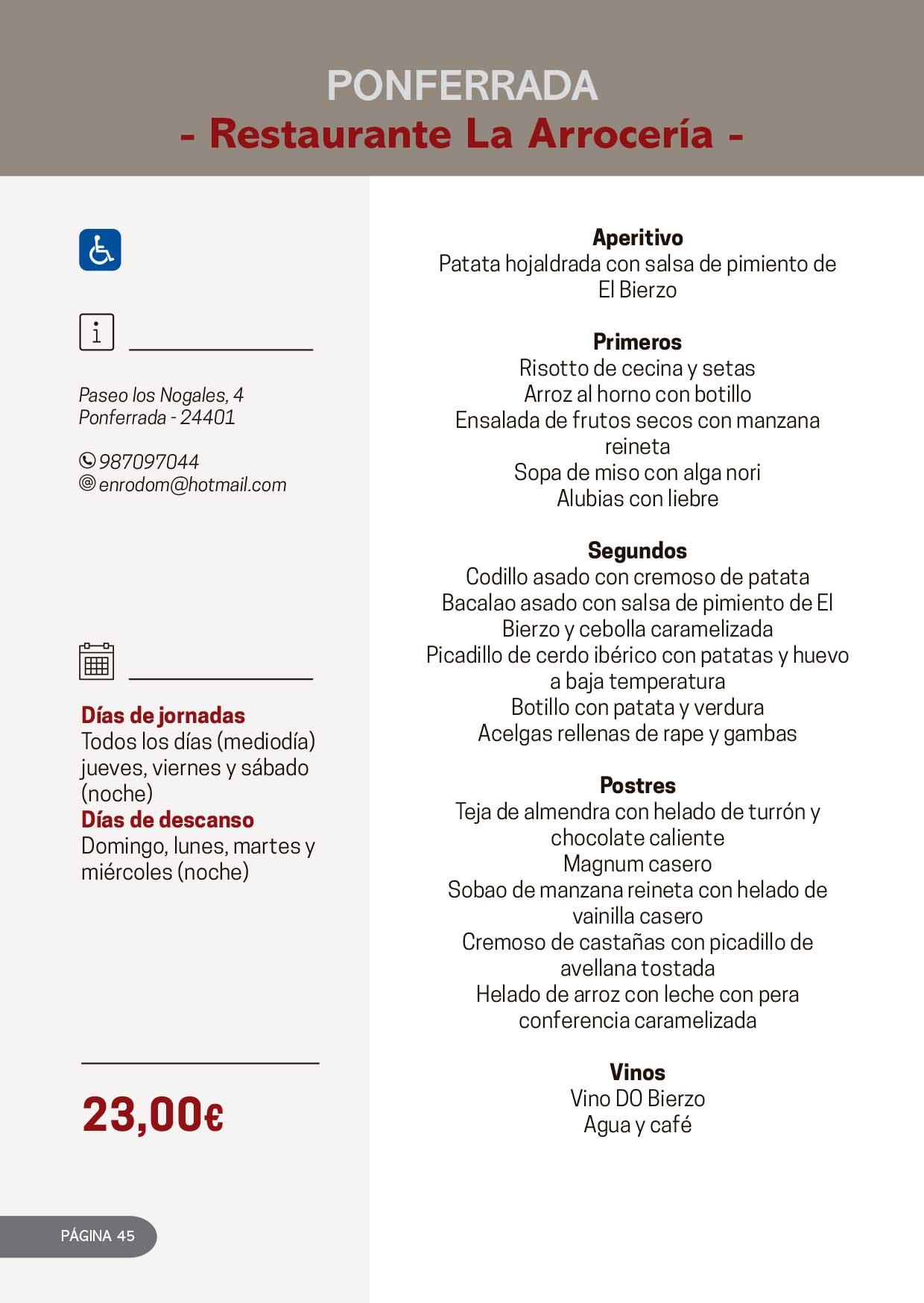 Las Jornadas Gastronómicas del Bierzo llegan a su 34 edición 28