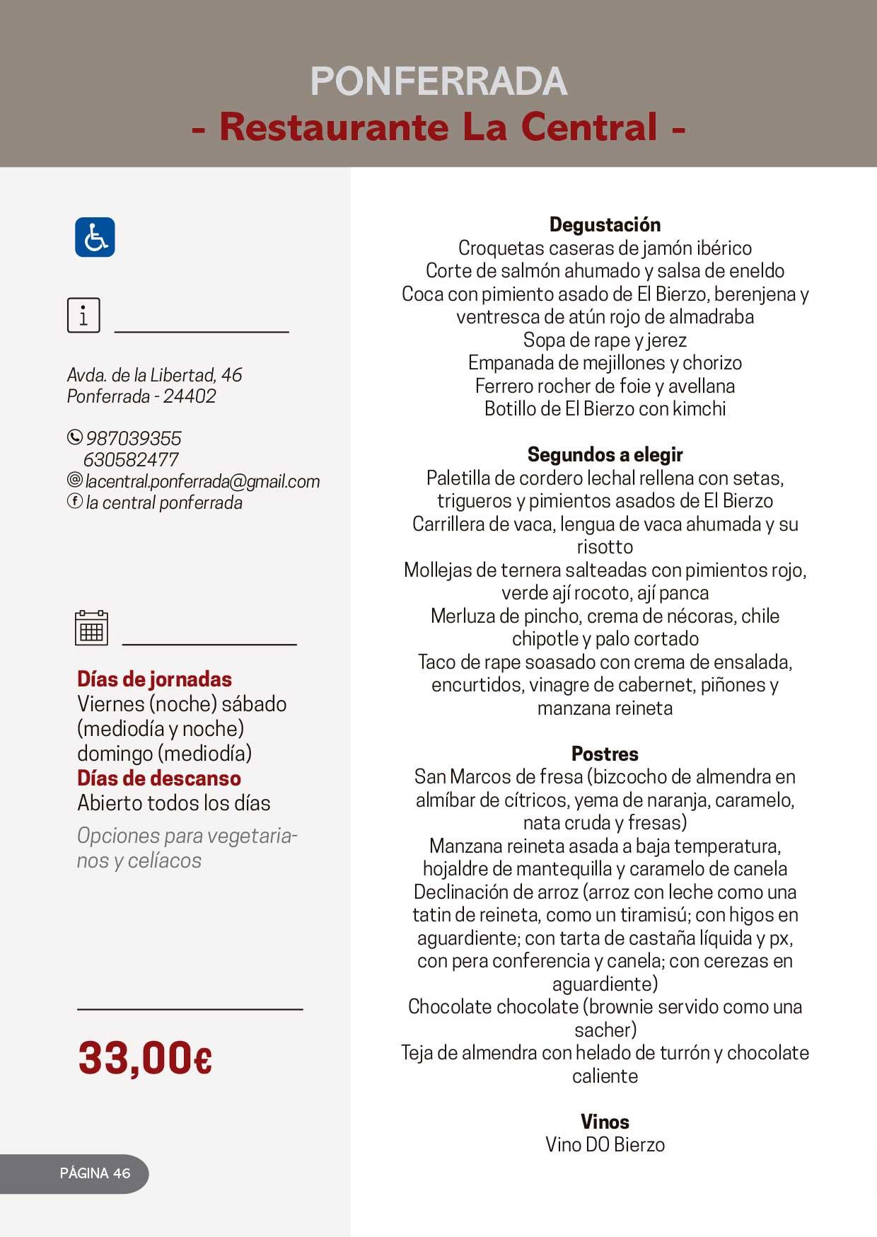 Las Jornadas Gastronómicas del Bierzo llegan a su 34 edición 29