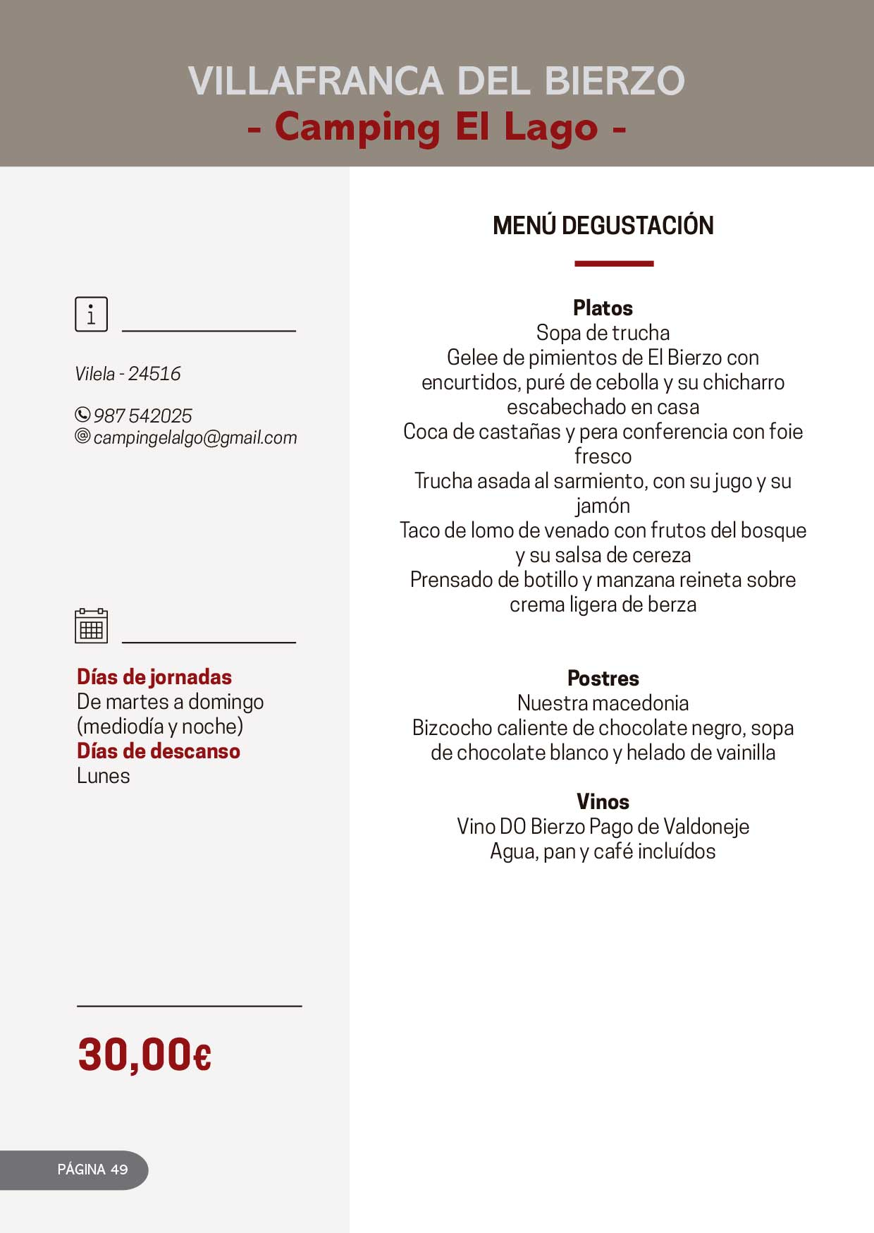 Las Jornadas Gastronómicas del Bierzo llegan a su 34 edición 32