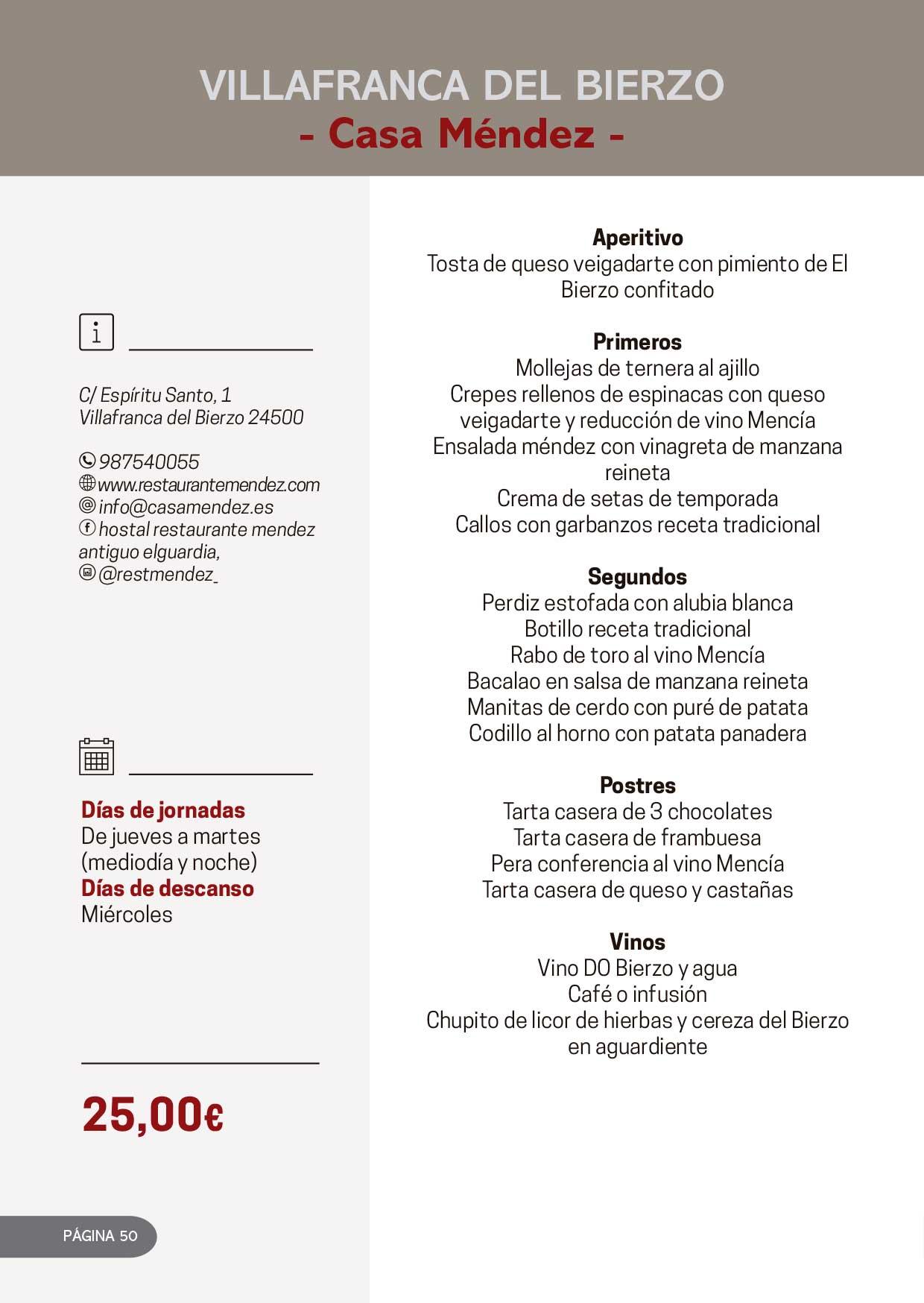 Las Jornadas Gastronómicas del Bierzo llegan a su 34 edición 33