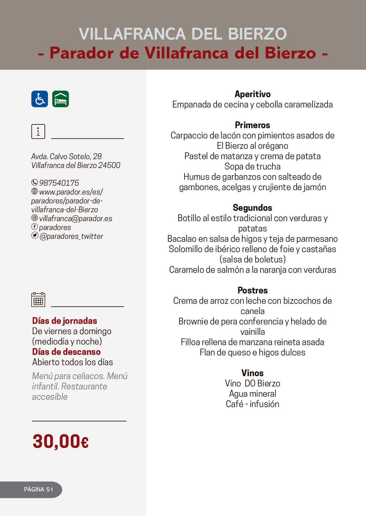 Las Jornadas Gastronómicas del Bierzo llegan a su 34 edición 34