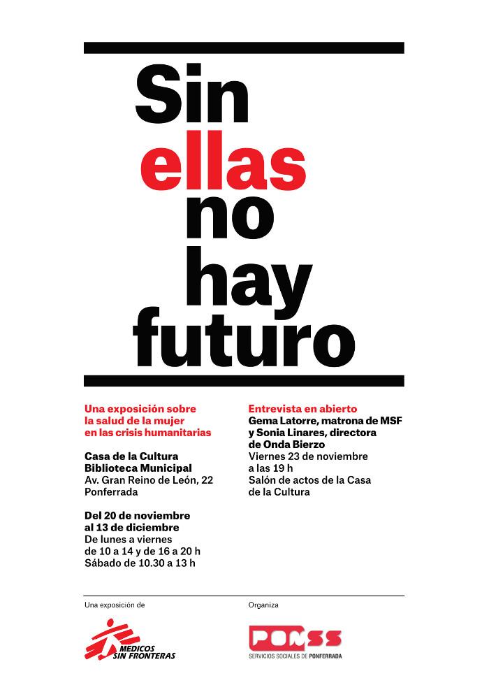 """""""Sin ellas no hay futuro"""", una exposición sobre la salud de la mujer en las crisis humanitarias"""