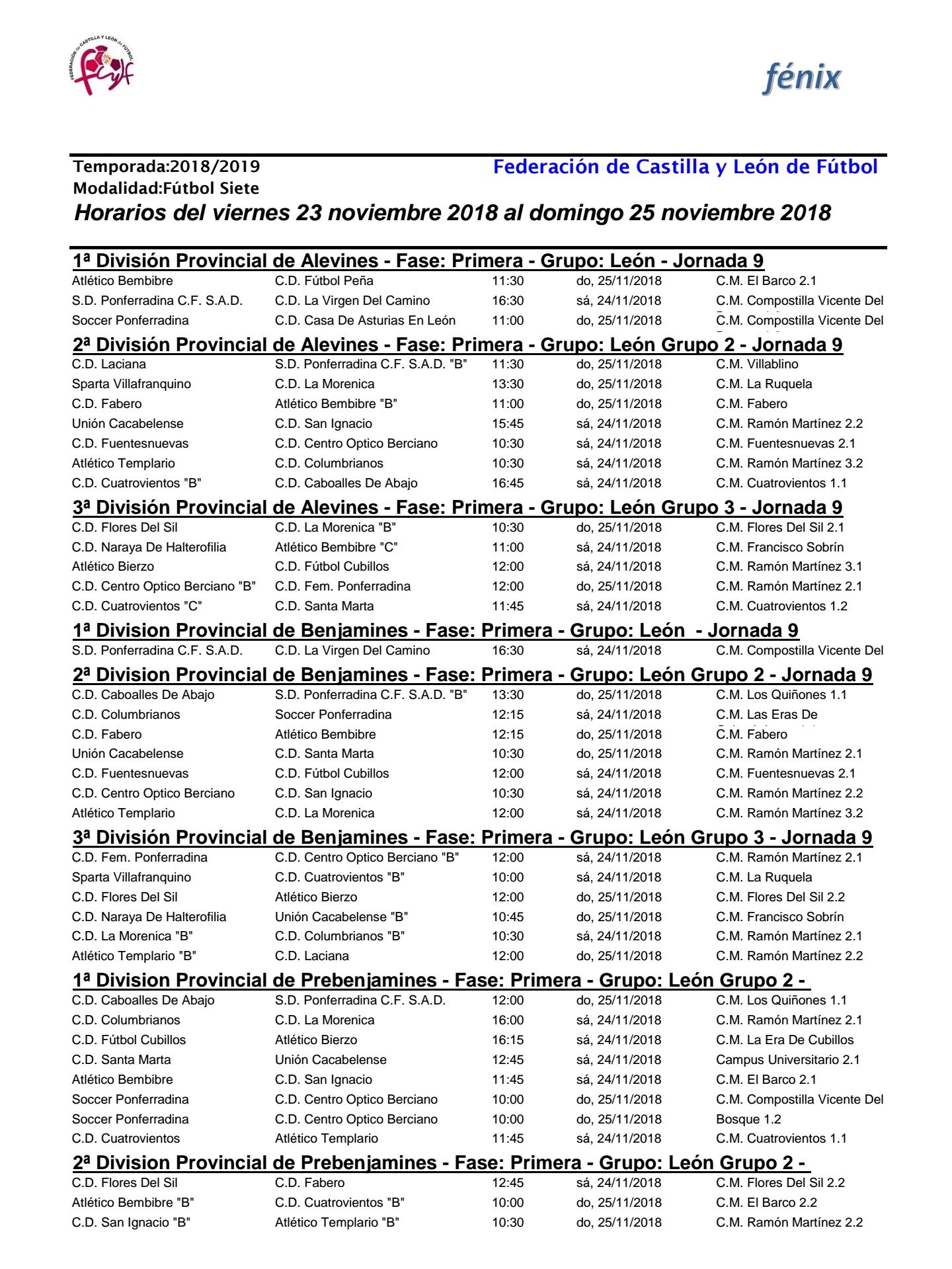 Planes de ocio para el fin de semana en Ponferrada y el Bierzo. 23 al 25 de noviembre 2018 41
