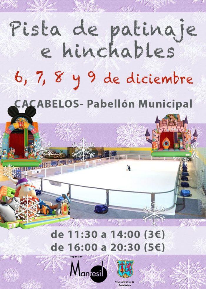 Cacabelos contará durante el puente de diciembre con una pista de patinaje 2