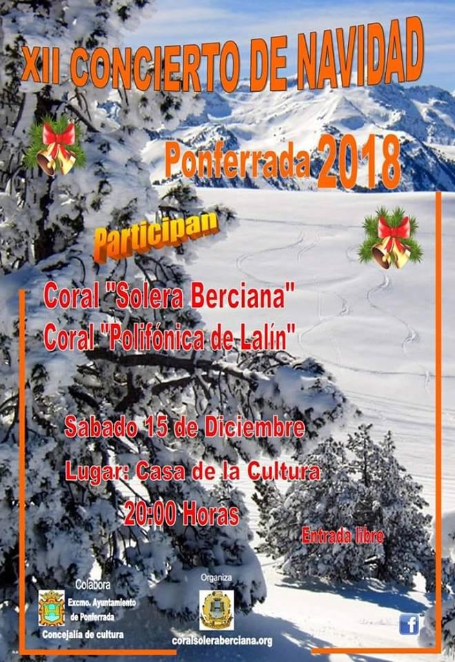 Planes de ocio en Ponferrada y el Bierzo para el fin de semana. 14 al 16 de diciembre 2018 18