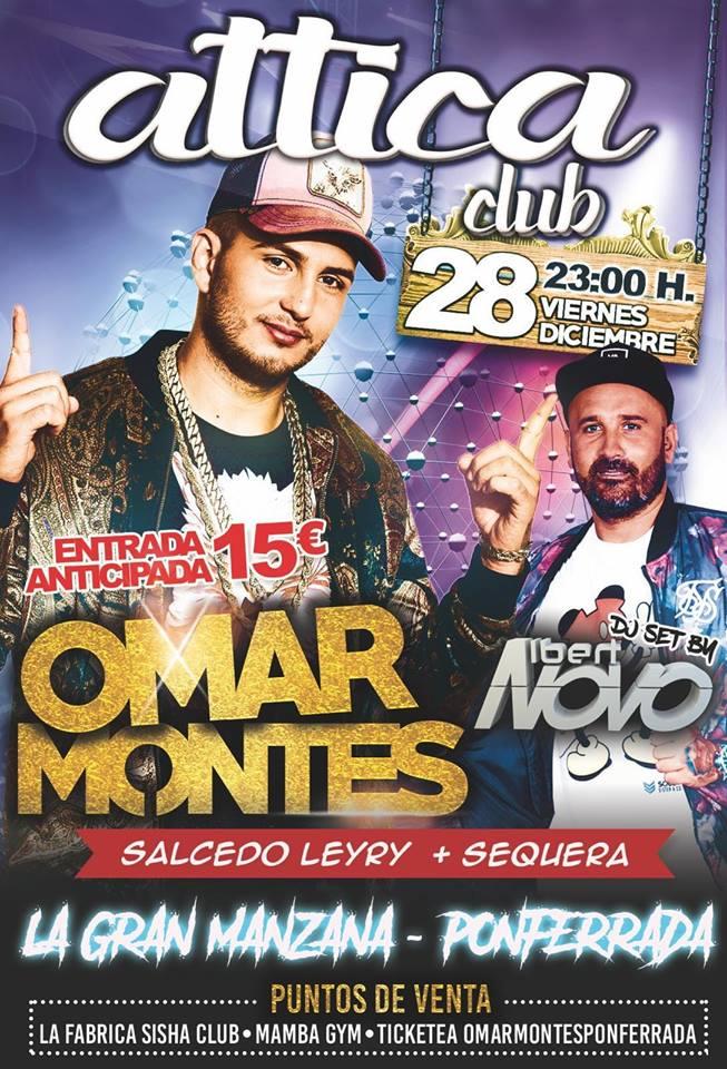 El esperado concierto de Omar Montes se pospone una semana 2