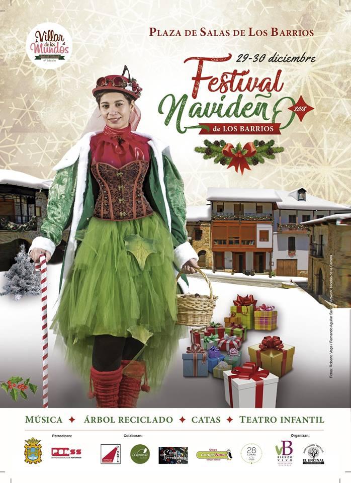 Festival navideño en Salas de los Barrios 3