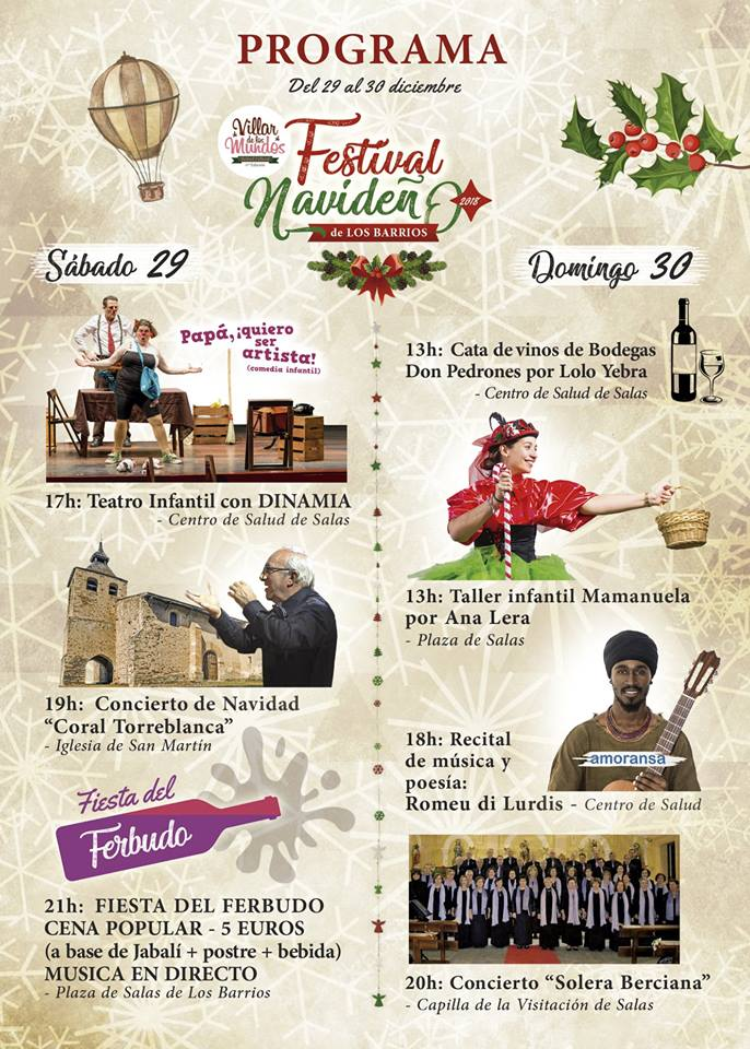 Festival navideño en Salas de los Barrios 2