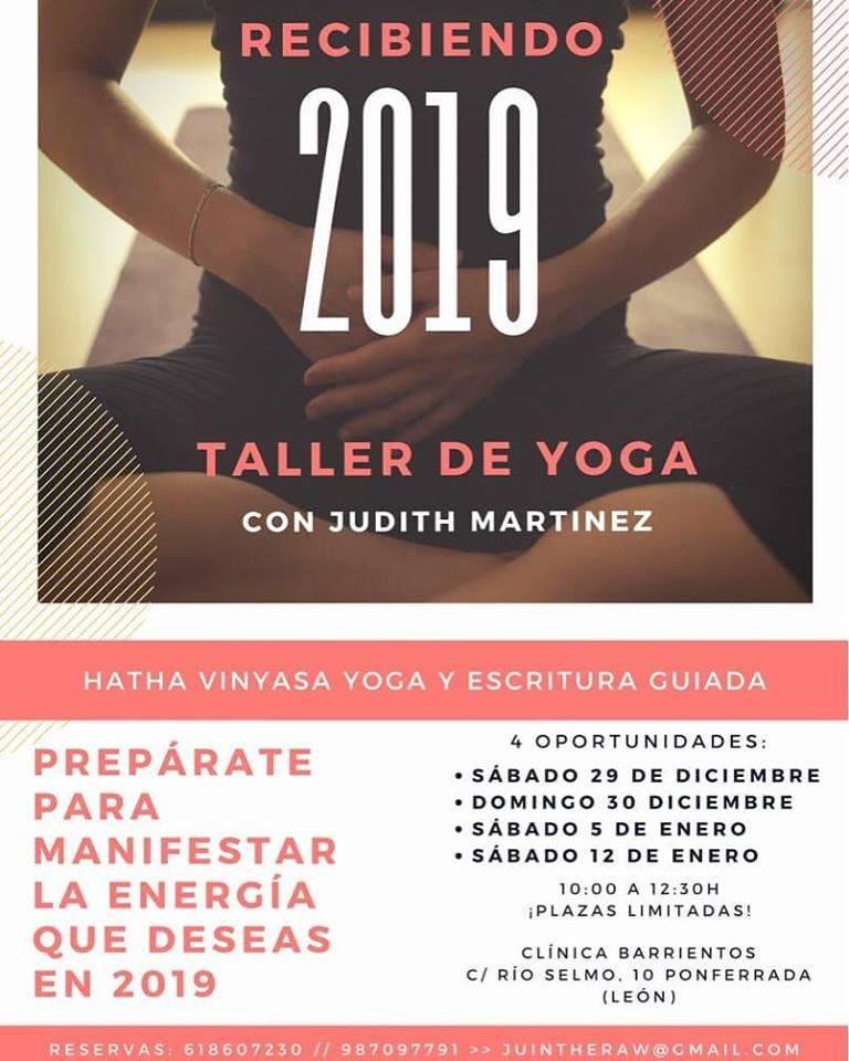 Clínica Barrientos te plantea recibir 2019 con un taller de Yoga 2