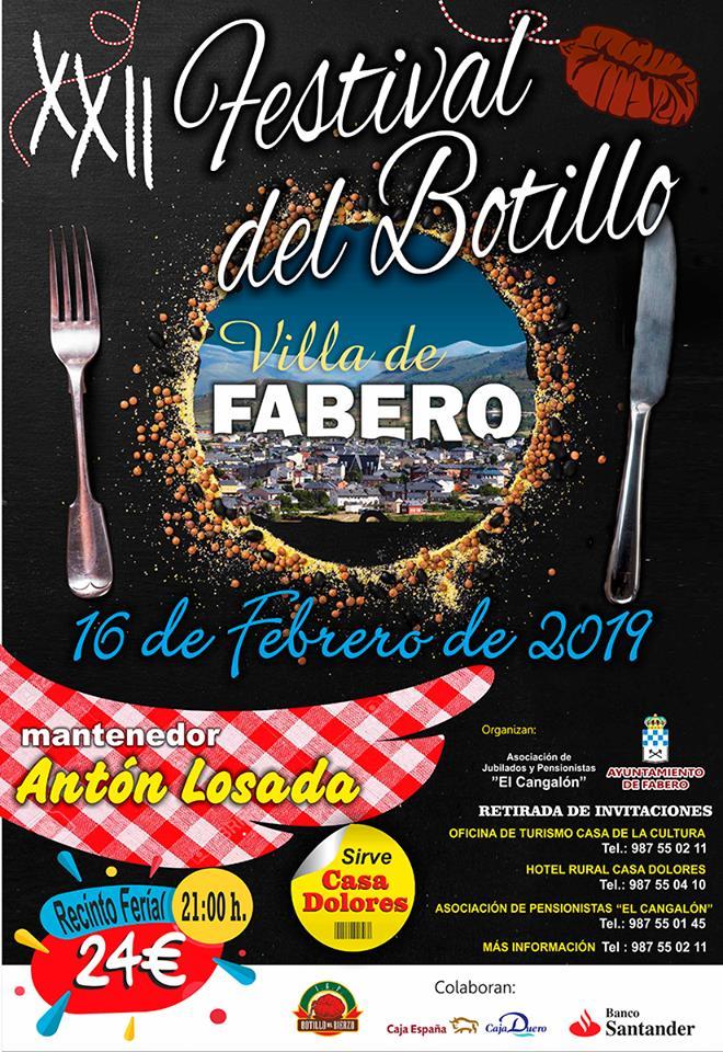 XXII Festival del Botillo Villa de Fabero 2