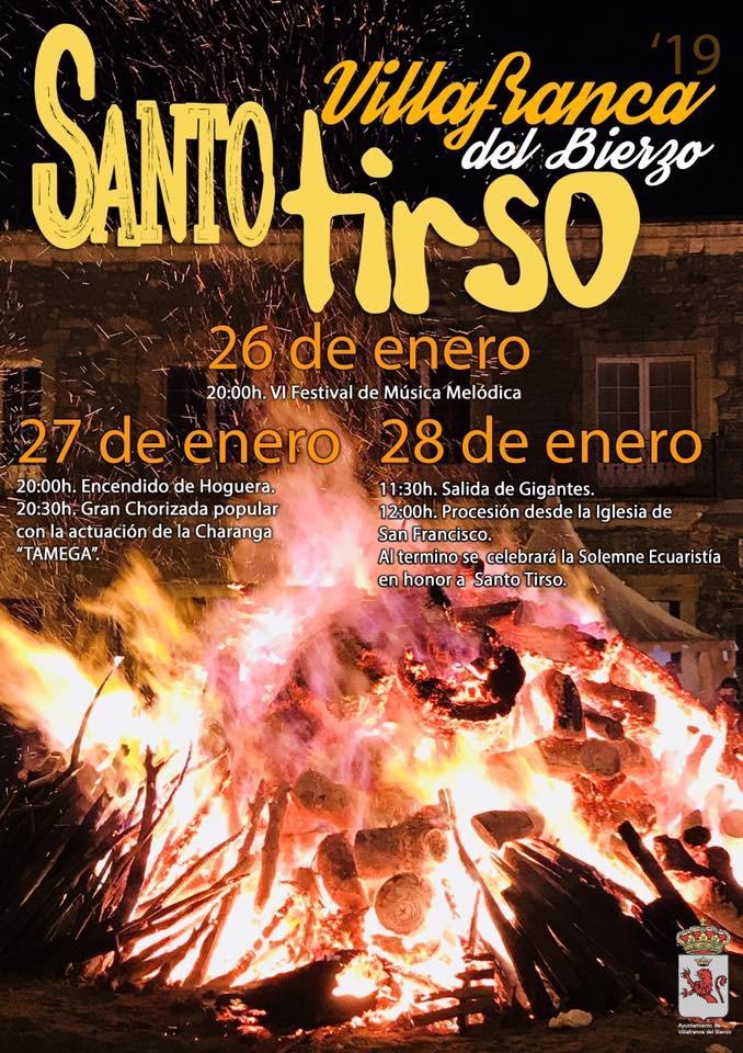 Santo Tirso 2019 en Villafranca del Bierzo 3