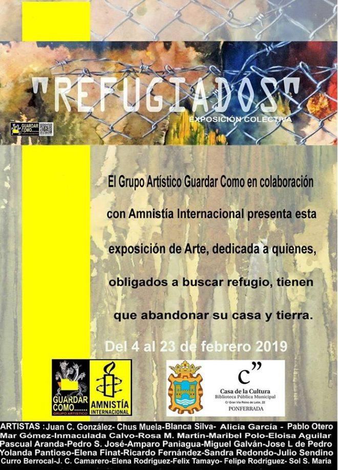 Refugiados - Exposición colectiva