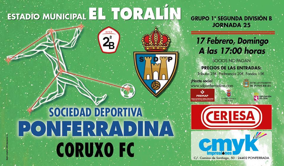Fútbol: SD Ponferradina vs Coruxo F.C.