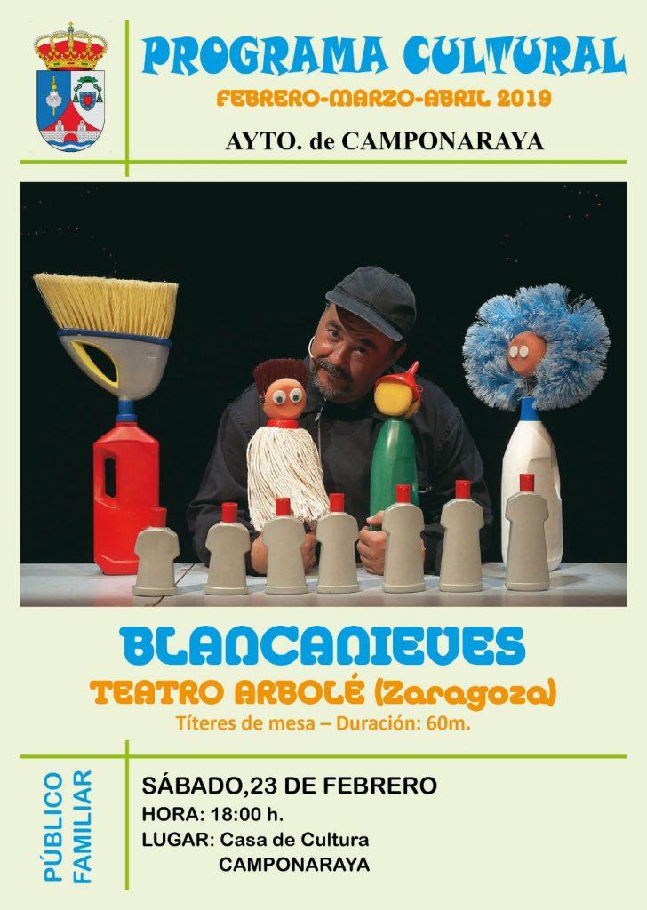 Camponaraya presenta un amplio y variado programa cultural para los próximos meses 2