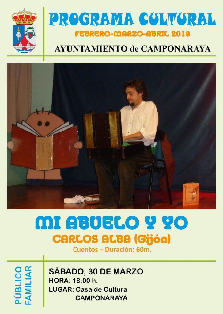 Camponaraya presenta un amplio y variado programa cultural para los próximos meses 3