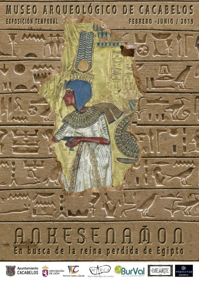 Exposición ANKESENAMON. En busca de la reina perdida de Egipto