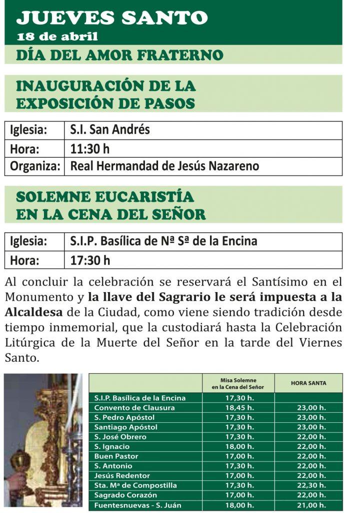 Semana Santa Ponferrada 2019. Programa y procesiones 16
