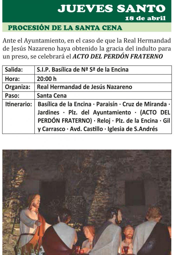 Semana Santa Ponferrada 2019. Programa y procesiones 17