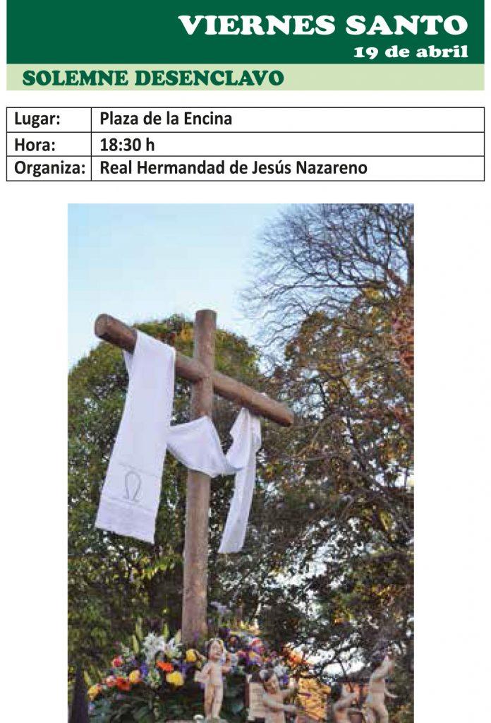 Semana Santa Ponferrada 2019. Programa y procesiones 20