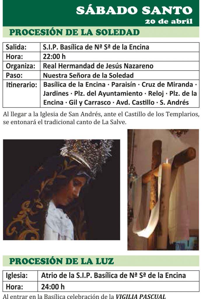 Semana Santa Ponferrada 2019. Programa y procesiones 22