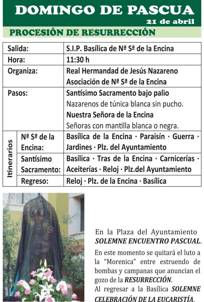 Semana Santa Ponferrada 2019. Programa y procesiones 23