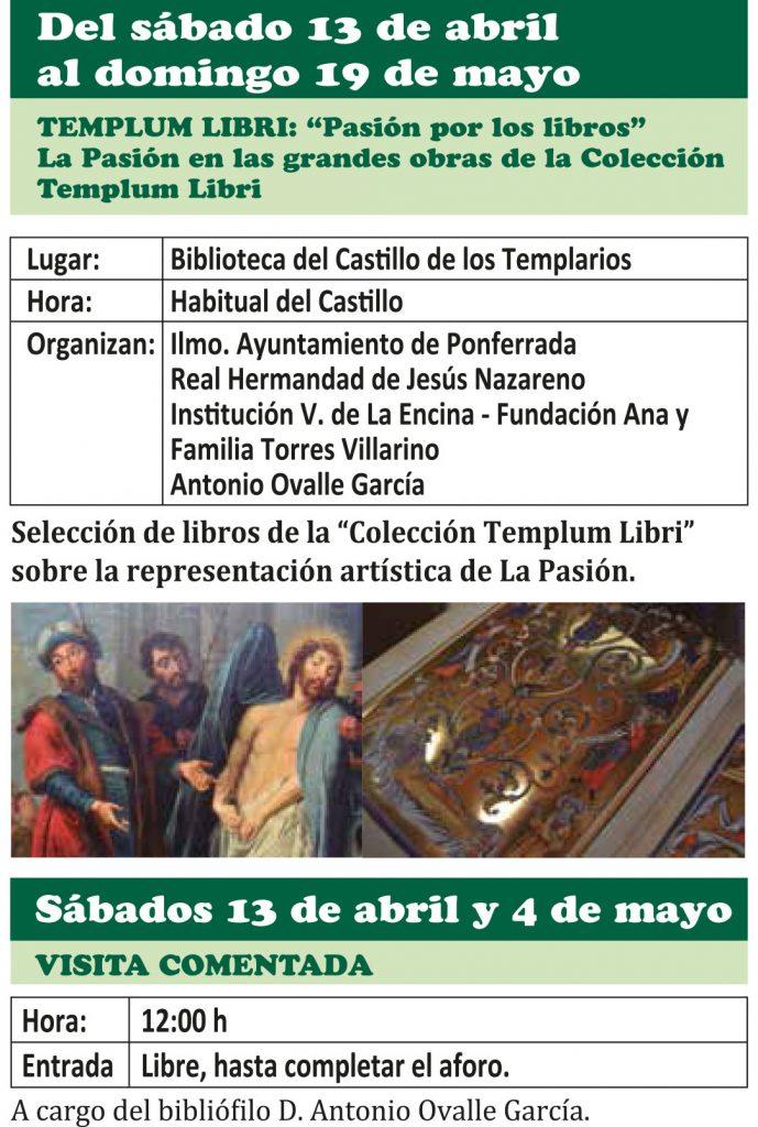 Semana Santa Ponferrada 2019. Programa y procesiones 25