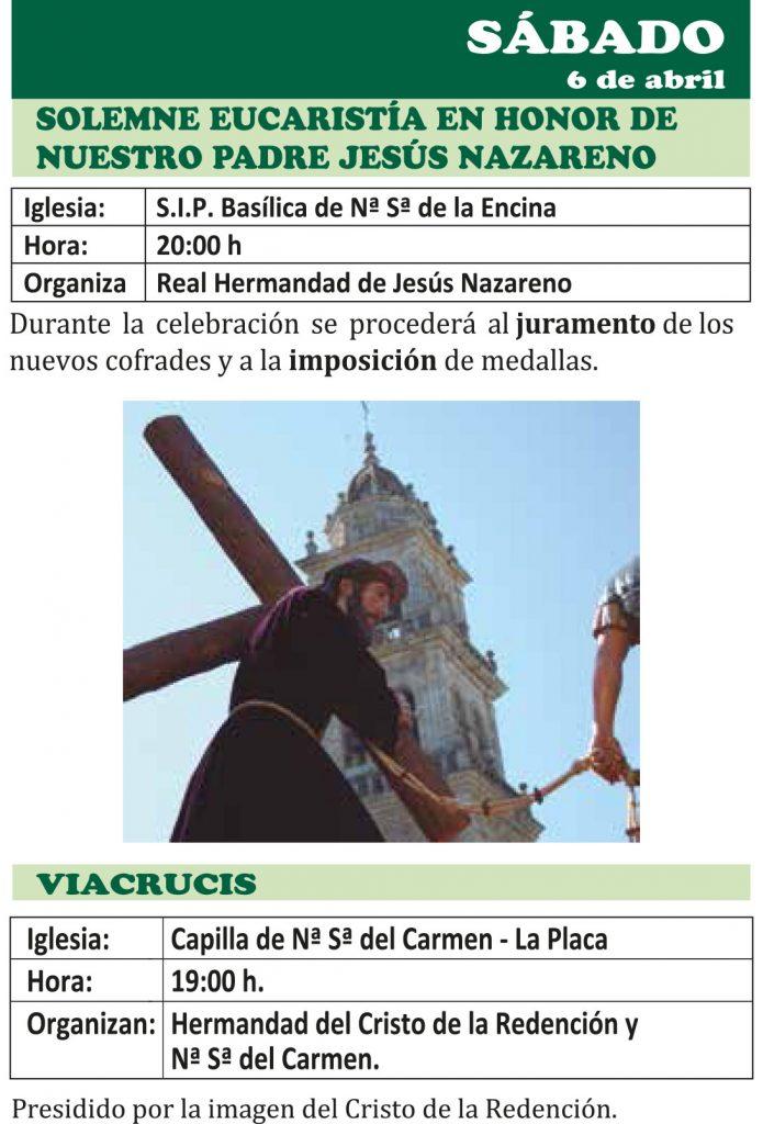Semana Santa Ponferrada 2019. Programa y procesiones 5