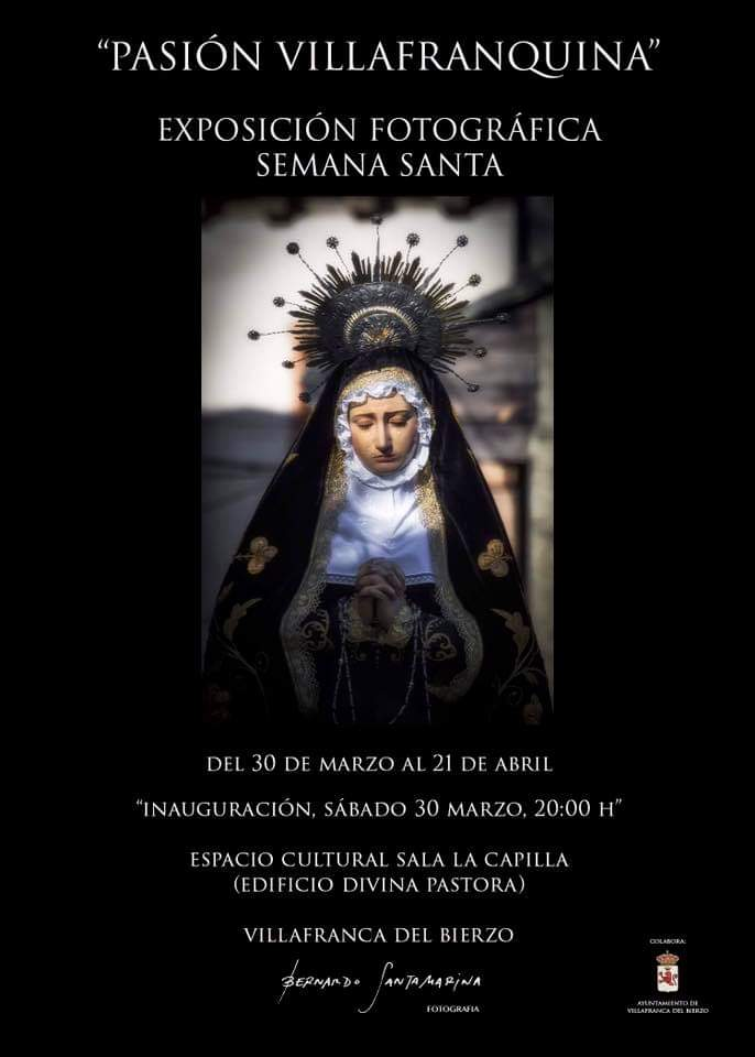 """Exposición fotográfica Semana Santa """"PASIÓN VILLAFRANQUINA"""""""