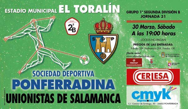 Fútbol: SD Ponferradina - Unionistas de Salamanca 2