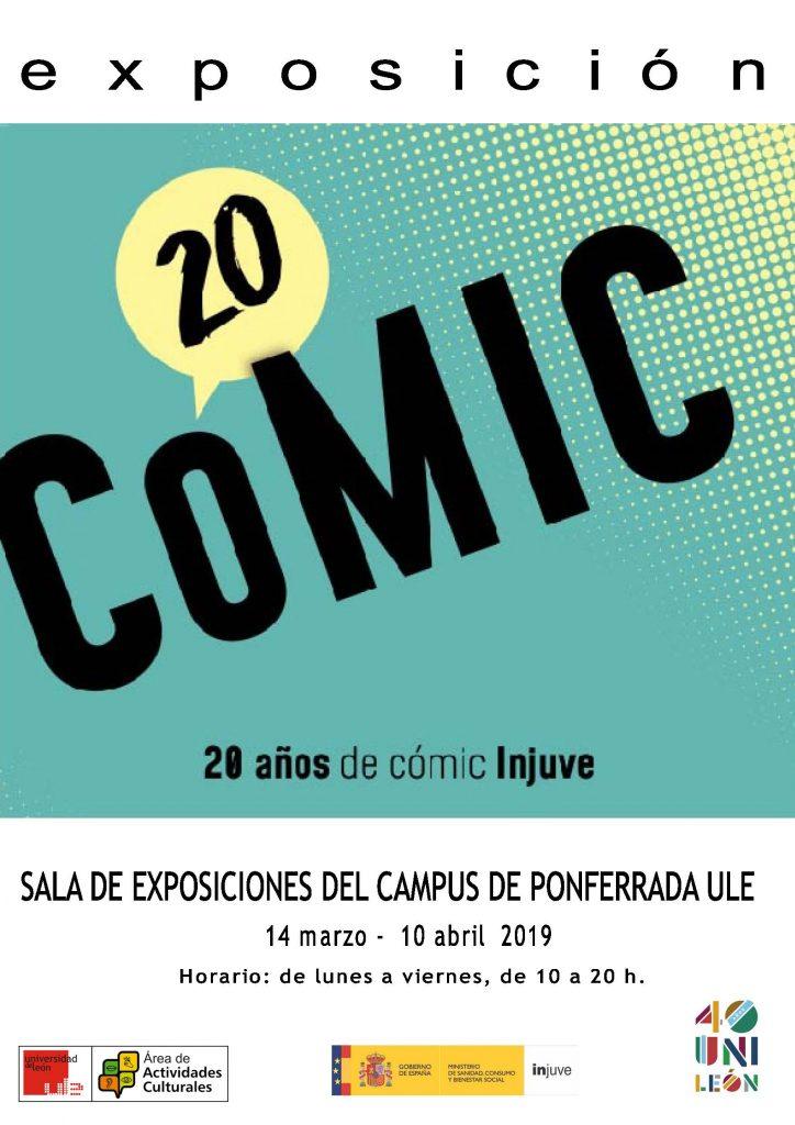 Exposición: '20 años de Cómic INJUVE'