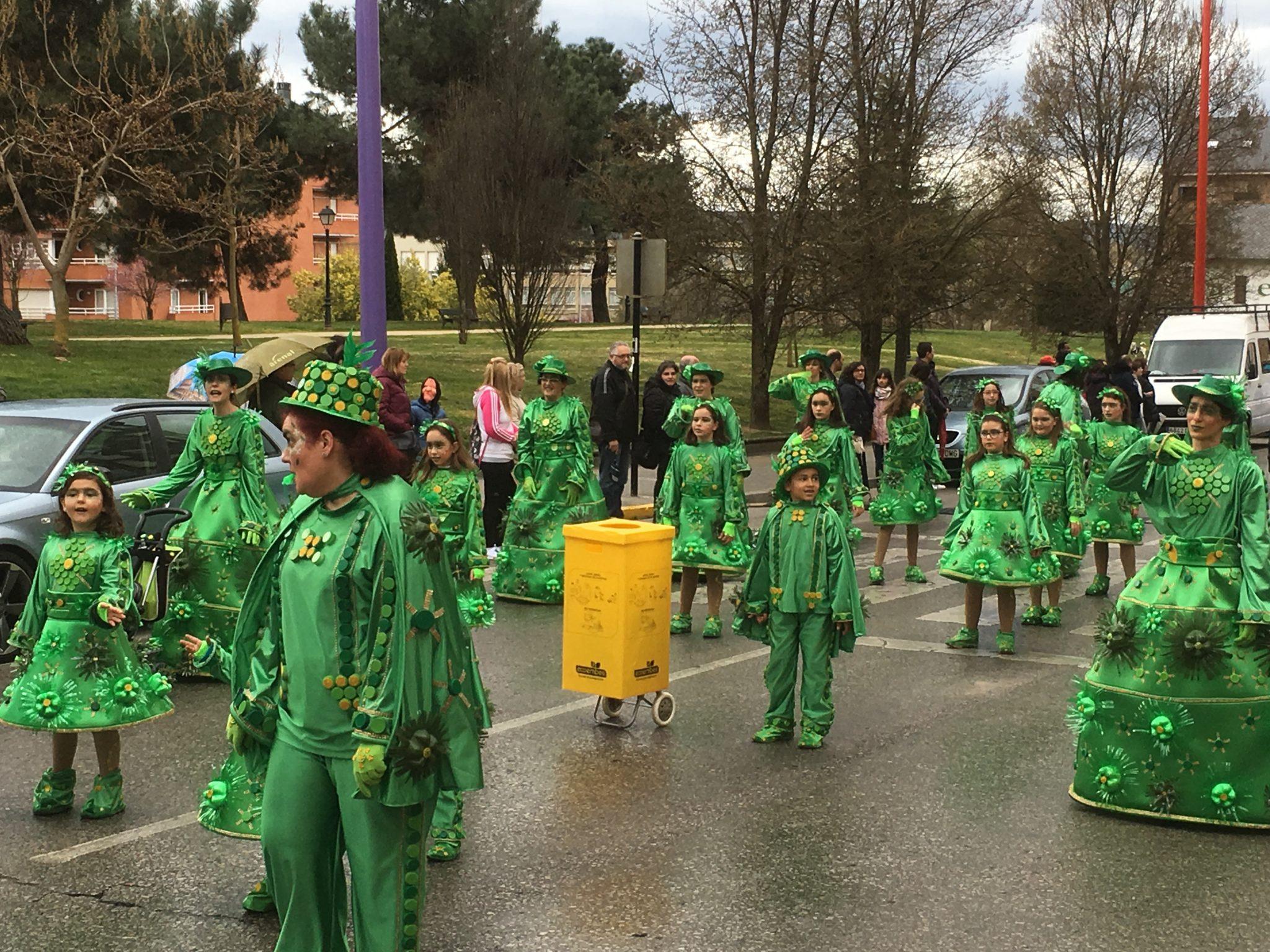 Álbum de fotos del martes de Carnaval 2019 en Ponferrada 50