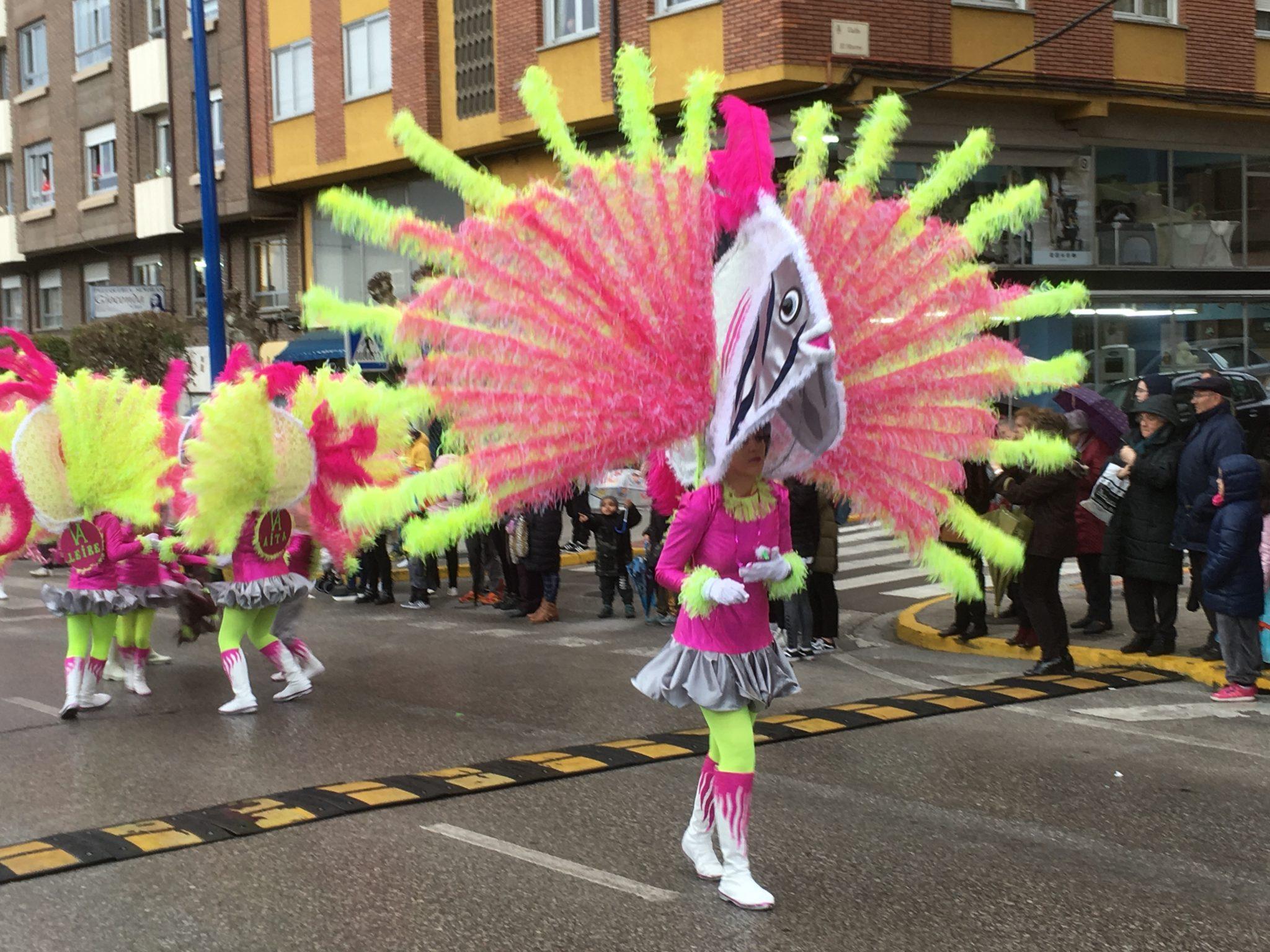 Álbum de fotos del martes de Carnaval 2019 en Ponferrada 28
