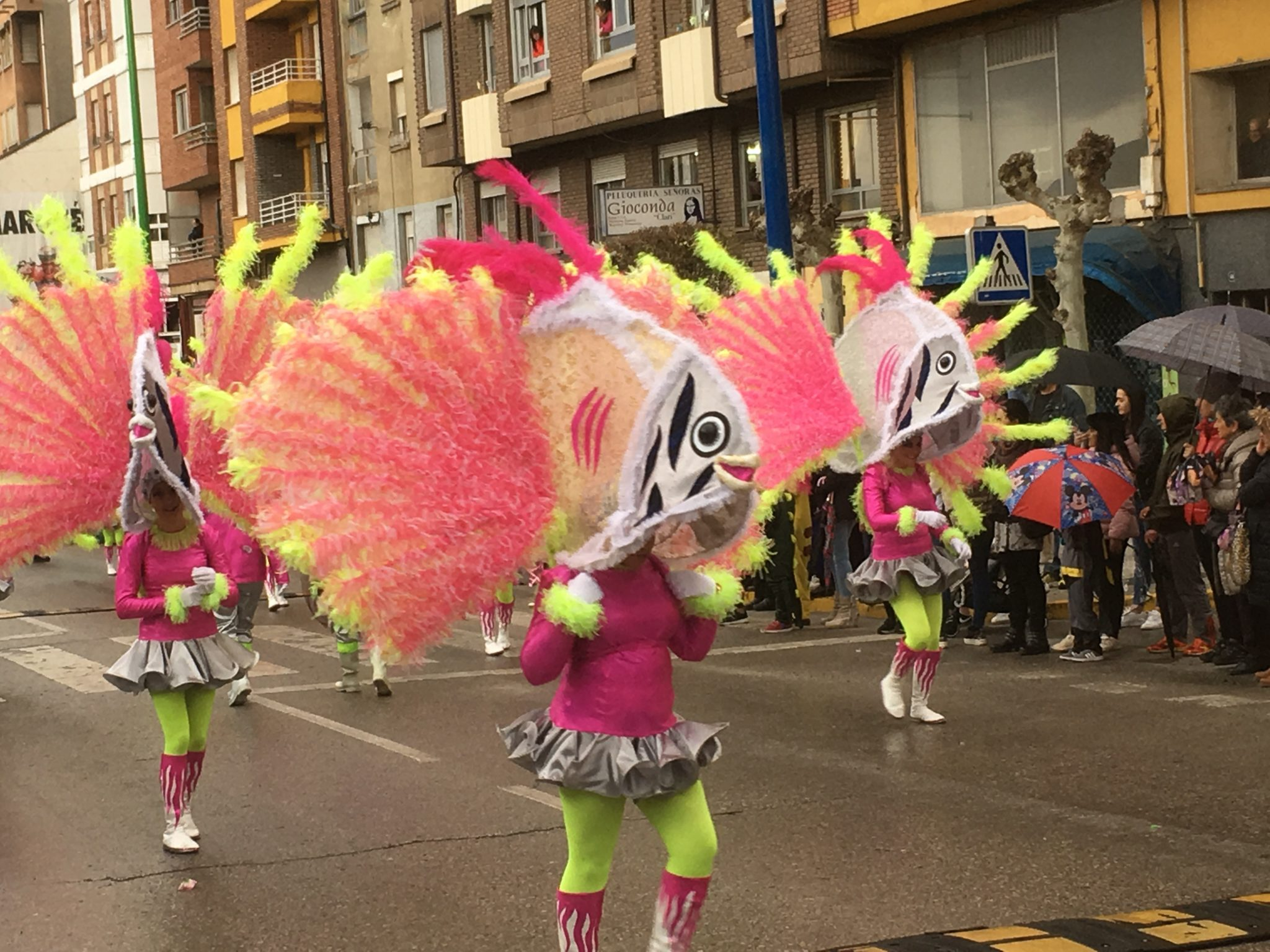 Álbum de fotos del martes de Carnaval 2019 en Ponferrada 26