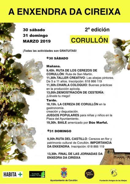"""Corullón celebra la """"2ª Enxendra da cireixa"""" con una ruta para disfrutar de la floración de los cerezos y actividades paralelas 2"""