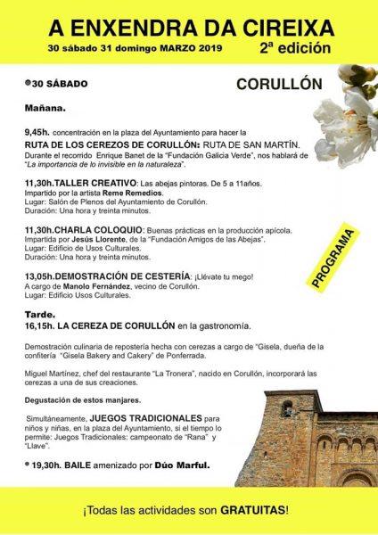 """Corullón celebra la """"2ª Enxendra da cireixa"""" con una ruta para disfrutar de la floración de los cerezos y actividades paralelas 3"""