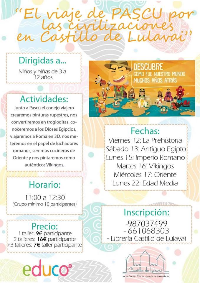 ¿Qué hacer con los niños en las vacaciones de Semana Santa en Ponferrada y El Bierzo 7