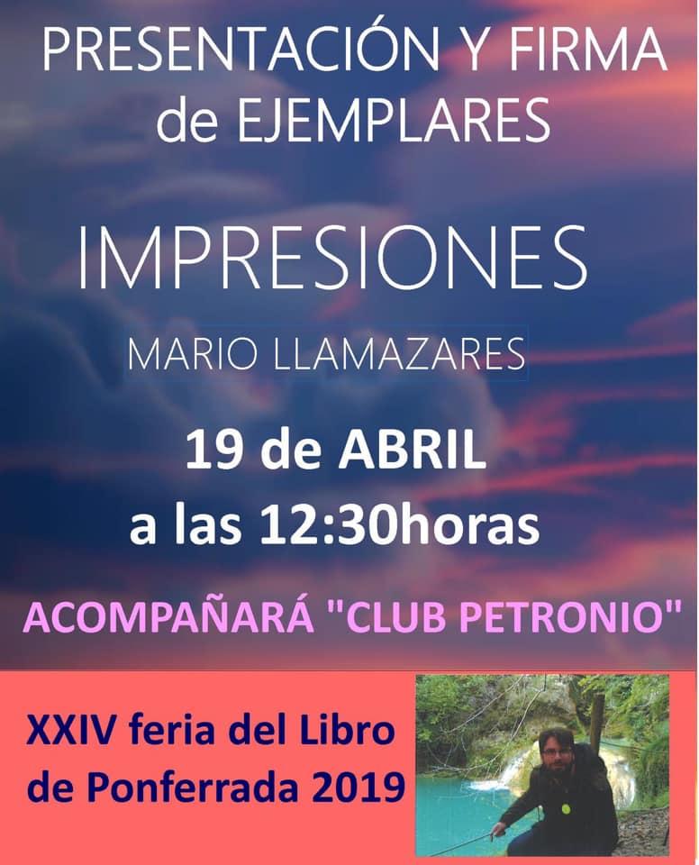 Feria del Libro de Ponferrada 2019. Actividades 8