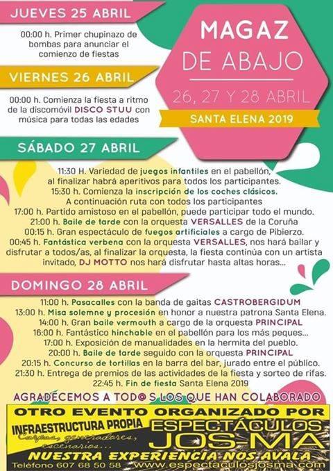 Fiestas de Santa Elena 2019 en Magaz de Abajo 2