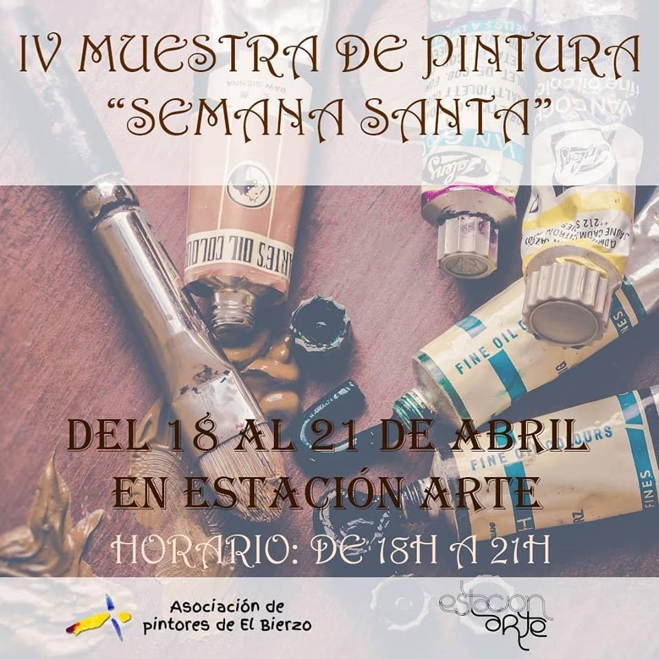 IV Muestra de Pintura y Escultura de Semana Santa