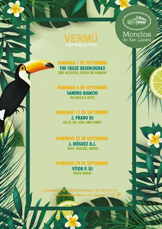 Así viene el septiembre de 'terrazeo' y vermouth en La Moncloa de Cacabelos 2