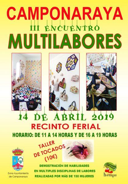 Tercera edición del 'Encuentro Multilabores' en Camponaraya 2