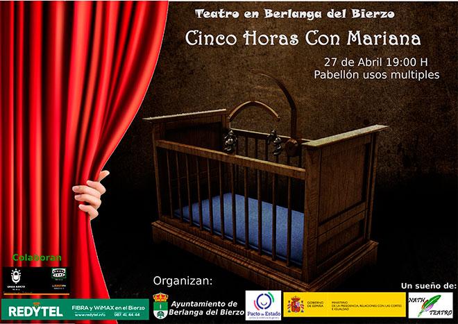 "Teatro ""Cinco Horas con Mariana"""