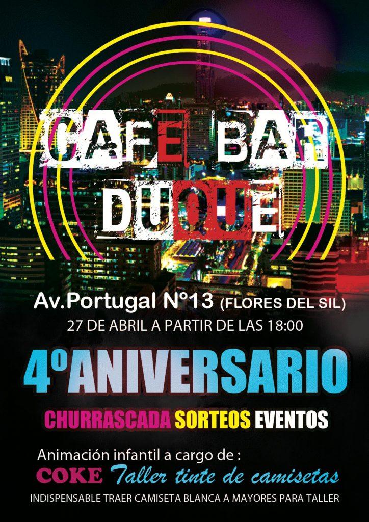 4º Aniversario del bar Duque