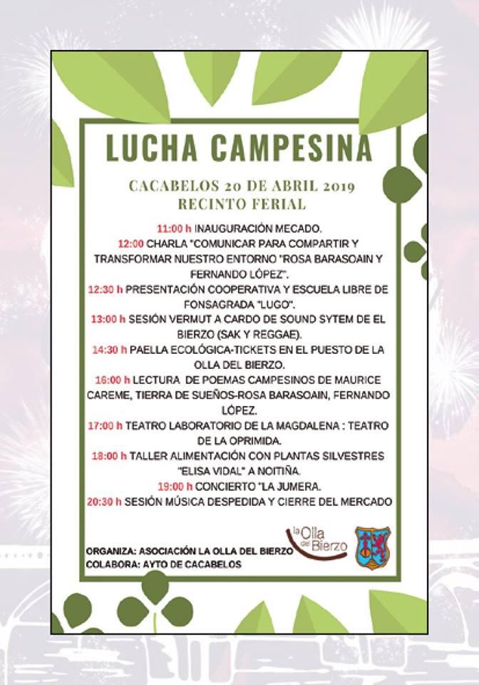 Programa de fiestas de la Pascua de Cacabelos 2019 5